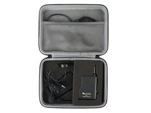 Hard Travel Case Replacement for FIFINE K037B Wireless Microphone System Wireless Microphone