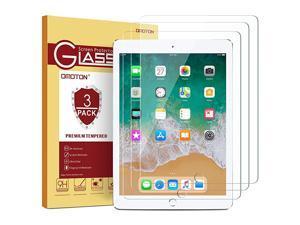 3 Pack iPad 97 6th Generation Screen Protector  Tempered Glass Screen Protector for Apple iPad 97 2018 2017 iPad Pro 97 Inch iPad Air 2 iPad Air 97 Inch