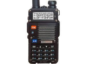 BFF8HP UV5R 3rd Gen 8Watt Dual Band TwoWay Radio 136174MHz VHF 400520MHz UHF Includes Full Kit with Large Battery