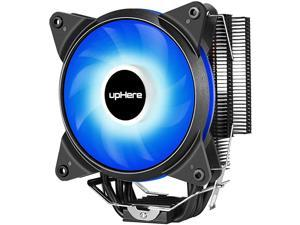 New CPU Cooler with 4 Direct Contact Heatpipes AC Blue LED FanAC12BE