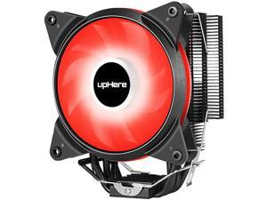 New CPU Cooler with 4 Direct Contact Heatpipes AC RED LED FanAC12RD
