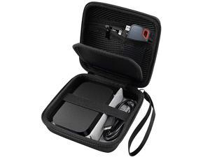 Travel Case for RAVPower FileHub Travel Router AC750 N300 25 Inch Portable SSD MP3 Player Power Bank USB Cable and More