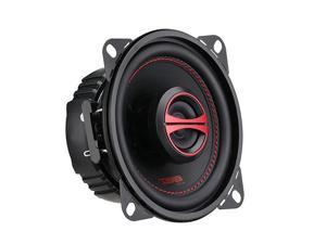 GENX4 Coaxial Speaker 4 2Way 120W Max 40W RMS Black Paper Cone Mylar Dome Tweeter 4 Ohms Clarity Unparalled by Other Speakers in Their Class 2 Speakers