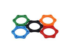 5pcs Rubber Wireless Handheld Microphone Rolling Protection Ring