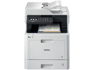 Color Laser Printer, Multifunction Printer, All-in-One Printer, MFC-L8610CDW, Wireless Networking, Automatic Duplex Printing, Mobile Printing and Scanning,  Dash Replenishment Ready