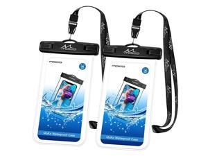 Waterproof Phone Pouch 2 Pack Underwater Clear Phone Case Dry Bag with Lanyard Compatible with iPhone 1111 Pro Max XXsXrXs Max 876 Plus Galaxy S10S9S8 Plus S10e S20 Note 1098
