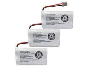 BT-1007 Cordless Phone Battery Compatible with Uniden BT1007 BT904 BT-904 BT1015 BT-1015 BBTY0651101 BBTY0460001 BBTY0510001 BBTY0624001 BBTY0700001 HHR-P506 HHR-P506A(3-Pack)