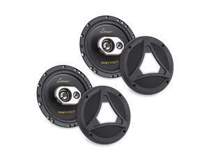 Standard 65 In Car Speaker Size Universal OEM Quick Replacement Component Speakers Vehicle Door Side Panel Mount Compatible 3Way Stereo Pro Audio Car Speakers 2 65 Inch Speakers