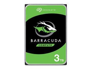 BarraCuda 3TB Internal Hard Drive HDD 35 Inch SATA 6Gbs 5400 RPM 256MB Cache for Computer Desktop PC Frustration Free Packaging ST3000DM007