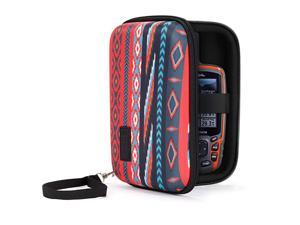 Travel Electronics Organizer 65 Inch Zipper Case with Hard Shell Case Exterior and Accessory Pocket Charger Organizer Accessory Organizer Cable Travel Organizer and More Southwest