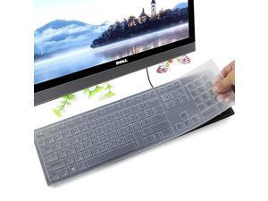 Protector Skin for Dell KM636 Wireless Dell KB216 Wired Dell Optiplex 5250 3050 3240 5460 7450 7050 Dell Inspiron AIO 347536703477 Allin one Desktop Clear
