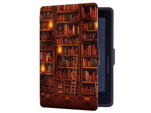 Painting Case for  Kindle Voyage Cover with Auto SleepWake Library