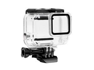 Waterproof Housing Case for GoPro Hero 7 White Silver Protective 45m Underwater Dive Case Shell with Bracket Accessories for Go Pro Hero7 Action Camera