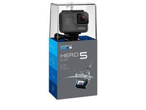 Hero5 Black — Waterproof Digital Action Camera for Travel with Touch Screen 4K HD Video 12MP Photos