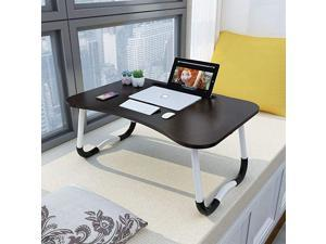 Laptop Bed Table Lap Desk Portable Bed Tray Table for Couch and Sofa Breakfast Tray Dining Table Folding Dormitory Table Notebook Stand Reading Holder for Couch Floor Kid 236 x 157in