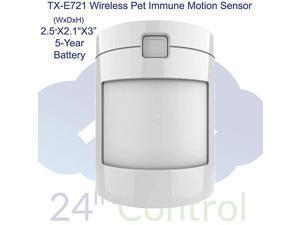 TX-E721 Wireless Pet-Immune Motion Detector for Simon XT/XTi, Concord, NX, Qolsys systems