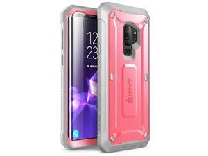 Unicorn Beetle Pro Series Case Designed for Samsung Galaxy S9+ Plus, with Built-In Screen Protector Full-body Rugged Holster Case for Galaxy S9+ Plus (2018 Release) (Pink)