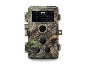 2020 Upgraded Trail Camera 16MP 1080P Game Camera with No Glow Night Vision Up to 65ft 02s Trigger Speed Motion Activated Loop Recording Waterproof for Outdoor Wildlife Scouting Brown
