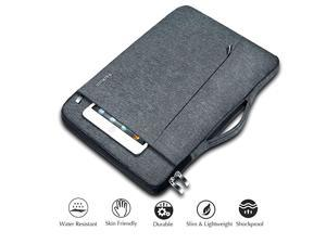 13 inch 133 inch Laptop Sleeve with Handle Compatible MacBook air 13 MacBook pro 13 XPS HP Surface Laptop iPad Pro 129 Chromebook 135 Laptop Case Carrying Bag Computer Sleeve Grey
