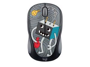 Doodle Collection M238 Mouse Optical Wireless 3 Buttons Lightbulb