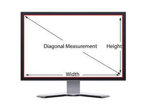 Screen Filter and Anti Glare for 19 Inches Computer Monitor with Aspect Ratio 54 Please Check Dimension Carefully