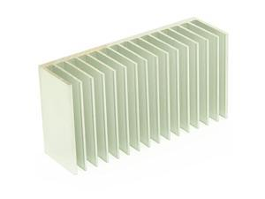 Heat Sink Cooling Module Aluminum Heatsink Cooler Fin 39 x 2 x 12