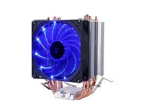 CPU Cooler with 4 Direct Contact Heatpipes Blue LED FanC92B