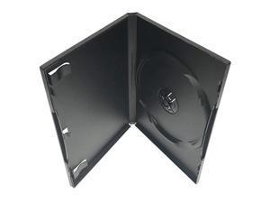 Standard Black Single DVD Case 10 Pack