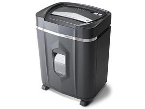 AU1210MA Professional Grade High Security 12-Sheet Micro-Cut Paper/CD and Credit Card/ 60 Minutes Continuous Run Time Shredder