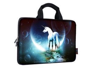 11 116 12 121 125 inch Laptop Carrying Bag Chromebook Case Notebook Ultrabook Bag Tablet Travel Cover Neoprene Sleeve for Apple Macbook Air Samsung Google Acer HP DELL Lenovo Asus Unicorn