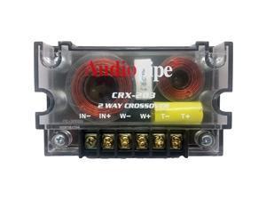 2 Way Crossover CRX203 400 Watts Passive Crossover Car Audio Tweeter
