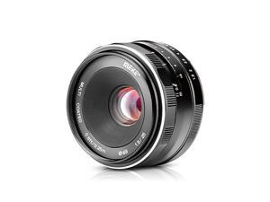 MK 25mm F1.8 Large Aperture Wide Angle Lens Manual Focus Lens for Canon EOS-M Mount Mirrorless Cameras