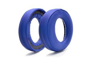 Upgrade earpads Replacement Compatible with Sony ps4 Gold Wireless Headset PS3 PS4 7.1 Virtual Surround Sound CECHYA-0083 Headphone (Blue)