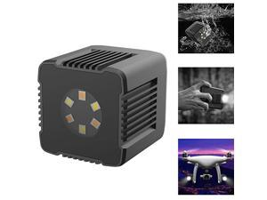 Moin L1 Magnetic Cube LED Lights3200K5600K01000lux 05m Underwater Photography Lighting with Magnetic Charging Cable APP Control for DSLR Drones Action Camera Smartphone