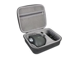 Hard Travel Case for Logitech MX Ergo Advanced Wireless Trackball Mouse by  (Case for Mouse and Accessories)