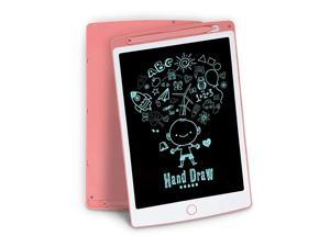 LCD Writing Tablet  10 Inch Light Drawing Board for Kids Doodle Board Kids Drawing Tablet Doodle Pad Pink