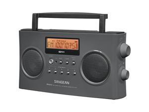 PR-D15 Digital Portable Stereo RDS Receiver Gray