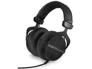Dt 990 Pro OverEar Studio Monitor Headphones OpenBack Stereo Construction Wired 80 Ohm Black Limited Edition