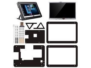 5 inch Resistive Touch Screen with Protective Case 800x480 HDMI TFT LCD Display Module for Raspberry Pi 3B+3B 2 Model B RPi 1 B B+ A A+ SC5AC 5 inch Raspberry pi Display with Protection case
