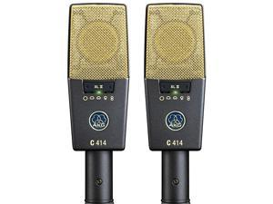 C414 XLII Stereoset Vocal Condenser Microphone Multipattern Matched Pair