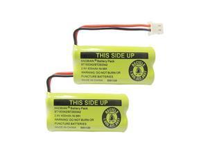 24V 400mAh Cordless Home Phone Battery for ATT BT162342 BT162342 BT166342 BT166342 BT266342 BT266342 BT183342 BT183342 BT283342 BT283342 VTech CS6329 CS6114 CS6419Pack of 2