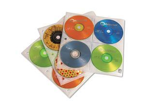 CDP-200 200 Disc Capacity CD ProSleeve Pages (White)