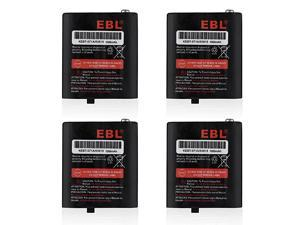 Pack of 4 TwoWay Radio Rechargeable Batteries 36V 1000mAh for Talkabout 53615 KEBT071A KEBT071B KEBT071C KEBT071D