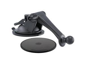 GN079WD Replacement Upgrade or Additional Windshield Dashboard Sticky Suction Mounting Pedestal with 3-Inch Arm for Garmin nuvi GPS