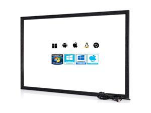 49 Inch 10 Points MultiTouch Infrared Touch Frame IR Touch Panel 49 Inches Infrared Touch Overlay USB Driver Free HID Compatible