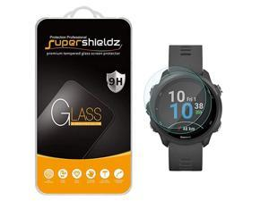 2 Pack  for Garmin Forerunner 245 and Forerunner 245 Music Tempered Glass Screen Protector Anti Scratch Bubble Free
