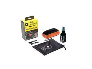 Record Cleaner Kit Complete 4inVinyl Cleaning Solution Includes Velvet Record Brush XL Cleaning Liquid Stylus Brush and Travel Pouch Will NOT Scratch Your Records