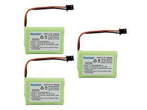 3 Pack Replacement Battery for Uniden BT909 BT909 DCT736 TRU9280 WXI477 WXI377 DCT737 DCT750 DCT756 DCT7565 DCT758 DCT7585 TRU9260 WHAMX4 WXI377 Panasonic PP102 KXTC1210 KXTC1220 KXTC1230