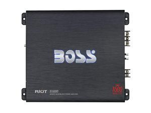 MODEL R1600M Car Amplifier - Model 1600W High Output Amp, 2/4 Ohm Stable, Class A/B, Mosfet Power Supply, Great Amp for Subwoofers