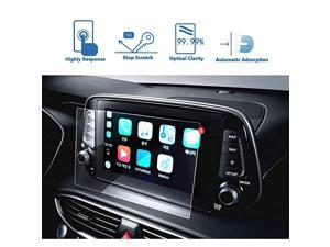 Navigation Screen Protector for 2019 Santa Fe 8 Inch Clear Tempered Glass Car Display Touch Infotainment Screen ScratchResistant Extreme Clarity